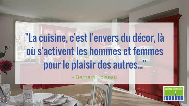 """""""La cuisine, c'est l'envers du décor, là où s'activent les hommes et femmes pour le plaisir des autres..."""""""