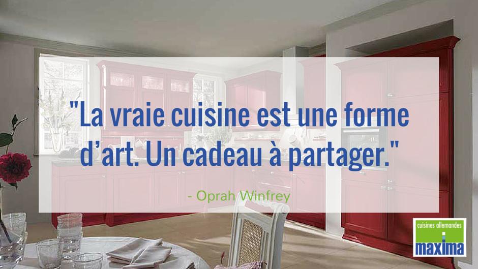 Citation La Vraie Cuisine Est Une Forme D Art