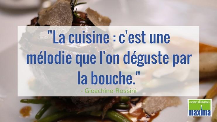 Citation La Cuisine Cest Une Mélodie Que Lon Déguste - Citation sur la cuisine