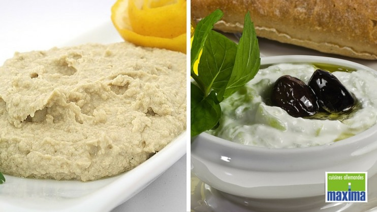 recette du tzatziki du houmous miam. Black Bedroom Furniture Sets. Home Design Ideas