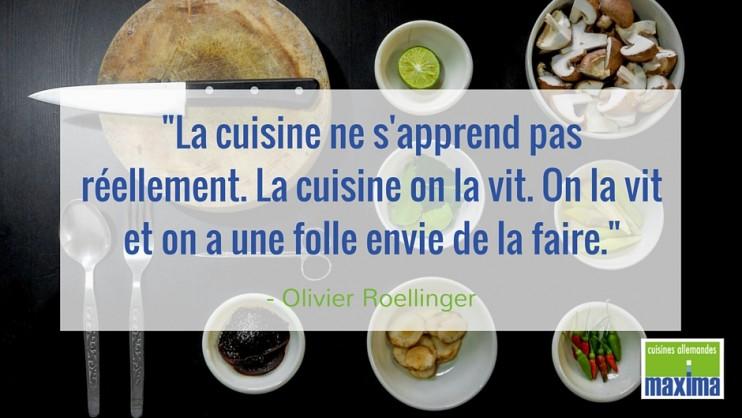 Citation La Cuisine Ne Sapprend Pas Réellement - Citation sur la cuisine
