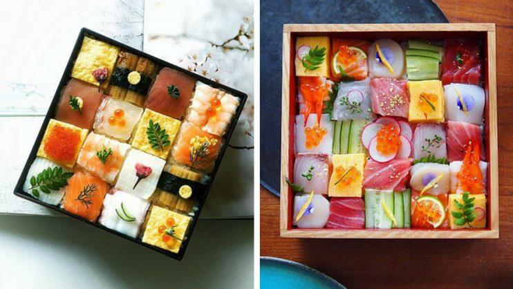 Mosaïques de sushis : 10 photos pour se mettre en appétit