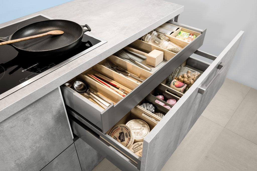 cuisine c262 b ton spatule gris perle maxima. Black Bedroom Furniture Sets. Home Design Ideas