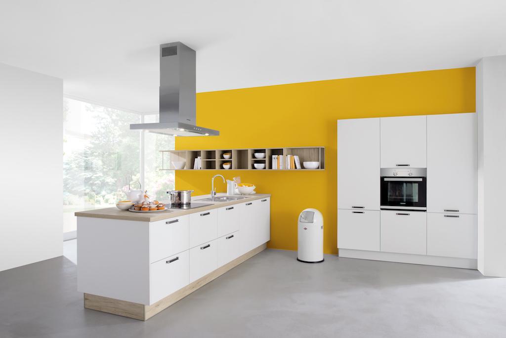 cuisine c243 blanc maxima. Black Bedroom Furniture Sets. Home Design Ideas