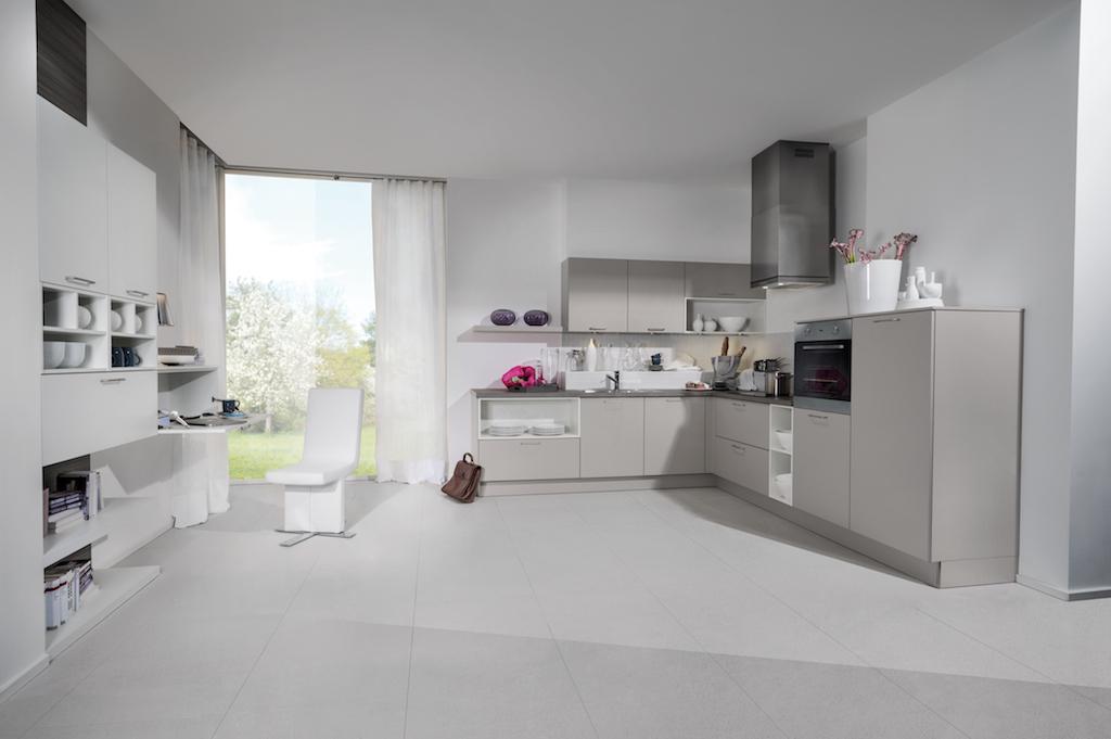 cuisine c122 cachemire c327 blanc maxima. Black Bedroom Furniture Sets. Home Design Ideas