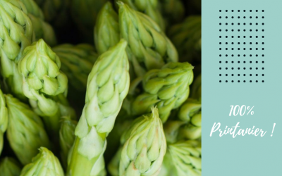 Des recettes pour sublimer l'asperge, le légume printanier par excellence !