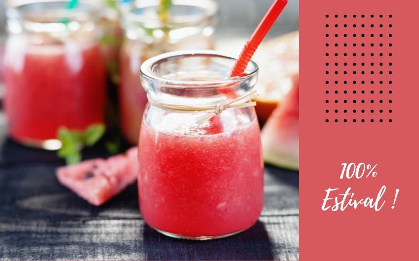 De l'eau aromatisée jusqu'au smoothie, de quoi se rafraîchir tout l'été ! (5 recettes)