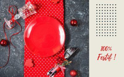 10 idées d'ambiance déco pour réussir votre table de Noël !