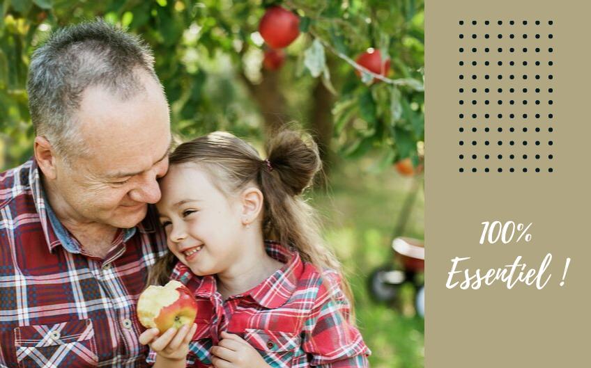 4 recettes avec des pommes, pour fêter la saison mais aussi les grands-pères !