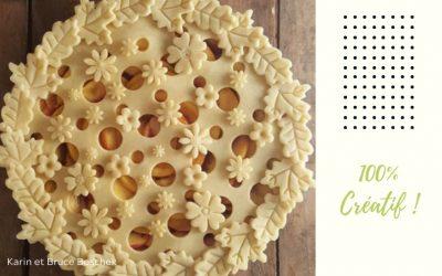 De magnifiques tartes automnales, trop belles pour être mangées !