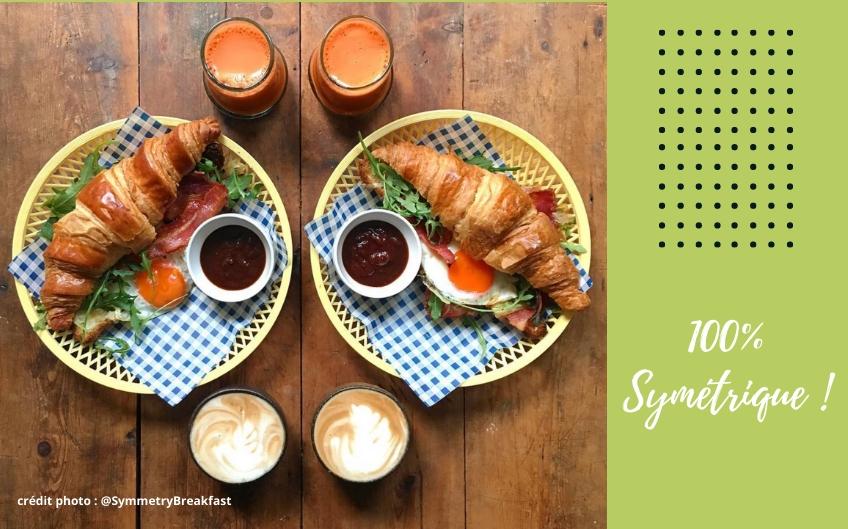 Les petits déjeuners symétriques de Michael Zee