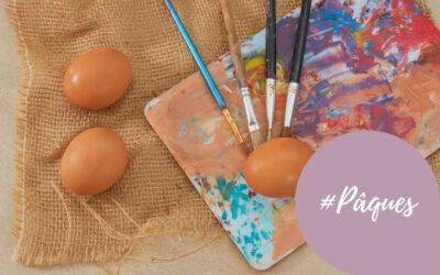 Atelier peinture avec vos enfants : Décorez des oeufs de Pâques !