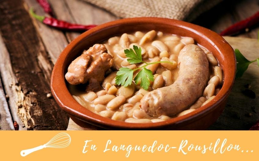 Tour de France des spécialités culinaires régionales : Le Cassoulet de Castelnaudary en Languedoc-Roussillon