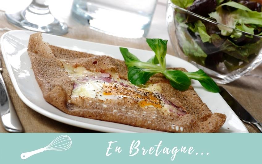 Tour de France des spécialités culinaires régionales : La Galette complète de Bretagne